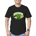Salmonella Farms - Cilantro Men's Fitted T-Shirt (dark)