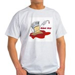 Bled Dry at the Gas Pump Light T-Shirt