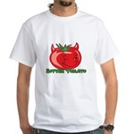 Rotten Tomato White T-Shirt