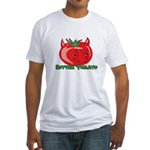 Rotten Tomato Fitted T-Shirt