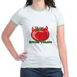 Rotten Tomato Jr. Ringer T-Shirt
