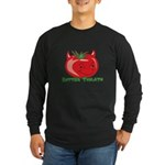 Rotten Tomato Long Sleeve Dark T-Shirt