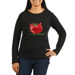 Rotten Tomato Women's Long Sleeve Dark T-Shirt