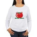 Rotten Tomato Women's Long Sleeve T-Shirt