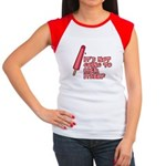 It's Not Going to Lick Itself Women's Cap Sleeve T-Shirt