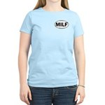 MILF Euro Oval Women's Light T-Shirt