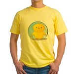 Whee! Chick v2.0 Yellow T-Shirt