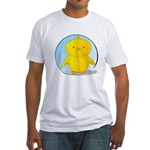 Whee! Chick v2.0 Fitted T-Shirt