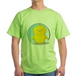 Whee! Chick v2.0 Green T-Shirt