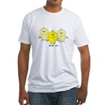 Chicks Rule Fitted T-Shirt