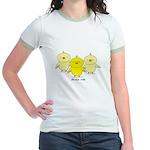 Chicks Rule Jr. Ringer T-Shirt
