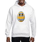 Smiley Easter Egg Hooded Sweatshirt