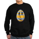Smiley Easter Egg Dark Sweatshirt (dark)