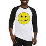 Smiley Face - Evil Grin Baseball Jersey