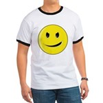 Smiley Face - Evil Grin Ringer T