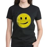 Smiley Face - Evil Grin Women's Dark T-Shirt