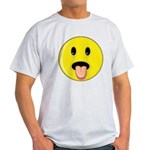 Smiley Face - Tongue Out Light T-Shirt