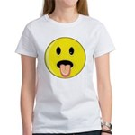 Smiley Face - Tongue Out Women's T-Shirt