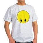 Smiley Face - Looking Down Light T-Shirt