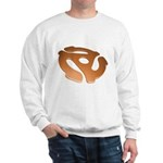 Orange 3D 45 RPM Adapter Sweatshirt