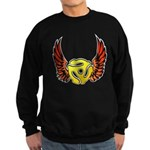 Red Winged 45 RPM Adap Dark Sweatshirt (dark)
