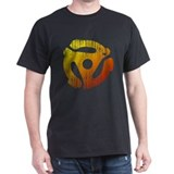 Distressed 45 RPM Adapter T-Shirt