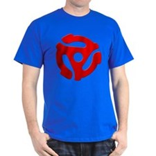 Red 45 RPM Adapter T-Shirt