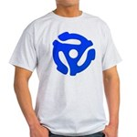 Blue 45 RPM Adapter Light T-Shirt