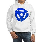 Blue 45 RPM Adapter Hooded Sweatshirt