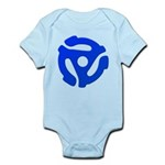 Blue 45 RPM Adapter Infant Bodysuit