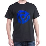 Blue 45 RPM Adapter Dark T-Shirt