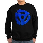 Blue 45 RPM Adapter Dark Sweatshirt (dark)