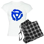 Blue 45 RPM Adapter Women's Light Pajamas