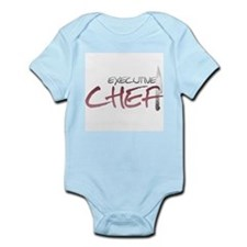 Red Executive Chef Infant Bodysuit