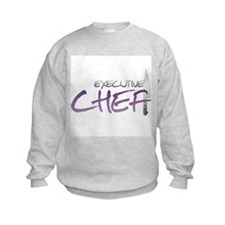 Purple Executive Chef Sweatshirt