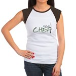 Green Sous Chef Women's Cap Sleeve T-Shirt