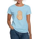 Hand - Stop Sign Women's Light T-Shirt
