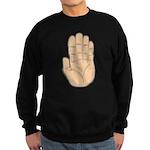 Hand - Stop Sign Dark Sweatshirt (dark)