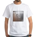 Iron (Fe) White T-Shirt