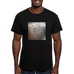 Iron (Fe) Men's Fitted T-Shirt (dark)