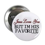 Jesus Loves You... Button