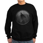 Play Button Dark Sweatshirt (dark)