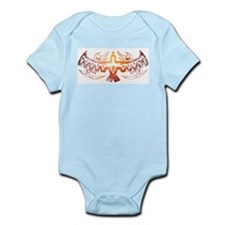 Tribal Thunderbird Tattoo Infant Bodysuit