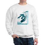 Eat Sleep Snowboard Sweatshirt