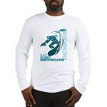 Eat Sleep Snowboard Long Sleeve T-Shirt