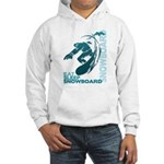 Eat Sleep Snowboard Hooded Sweatshirt