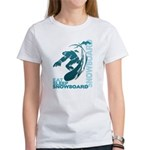 Eat Sleep Snowboard Women's T-Shirt