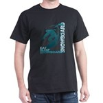 Eat Sleep Snowboard Dark T-Shirt