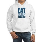 EAT SLEEP SOCCER Hooded Sweatshirt