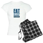 EAT SLEEP SOCCER Women's Light Pajamas